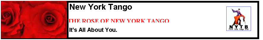 Top Tango Performance Schedules New York City